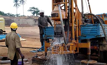 GSD-III drilling rig construction in Nigeria