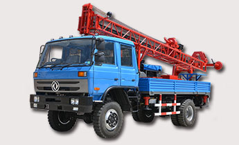 GSD-IIA Truck Mounted Drill (Four-wheel drive)